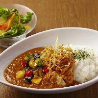 saryo's cafeオリジナル『野菜のsaryo'sカレー』