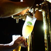 世界各国の珍しいビールも豊富に取り揃えております!