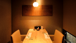 ご予約人数に合わせてお席をご用意。記念日やお祝いにどうぞ