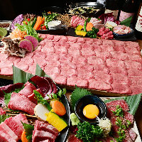 季節の宴会コースの定番♪黄金出汁でいただく絶品牛タンしゃぶ!