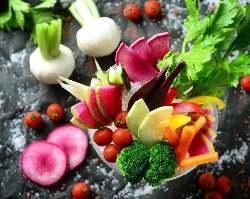 新鮮野菜とお肉をバランスよく召し上がれ★