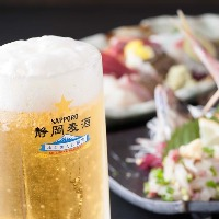 熱海で夜遅くまで営業のお店は少ないです。 静岡麦酒飲めます。