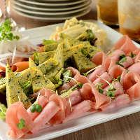 本格イタリアンをご堪能あれ!ビュッフェか大皿でご提供します!