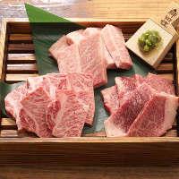 飛騨牛ランプ炙り握りは焼肉の合間の箸休めにお召上がりください
