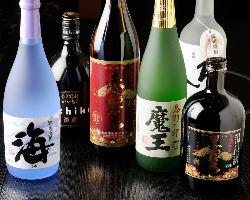 日本酒・焼酎も多数取り揃え!貴重なお酒に出会えることも!?