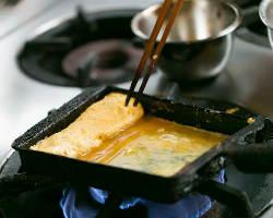 幾重にも折り重なる出汁巻の優しい味わい。和食の深さを再確認。
