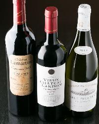 自慢の和食とのマリアージュ!ワインも厳選して取り揃えてます。