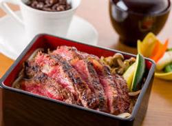 贅沢なステーキ重のお弁当は、会議やお使い用にご利用ください。