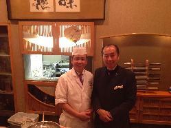 ワイン ソムリエの田崎さんをお招きしてのイベントも