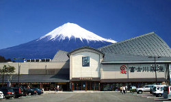 富士川サービスエリア内道の駅『富士川楽座』4階