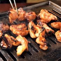 ■食欲そそる香り■ ふっくらジューシーに焼き上げた鶏焼肉!