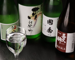 酒屋直営店ならではの日本酒多数ご用意!!