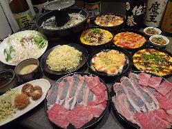 お肉はすべて愛知県産。上質な味です。