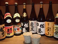日本酒、焼酎、カクテル各種など豊富なお酒の品揃え☆
