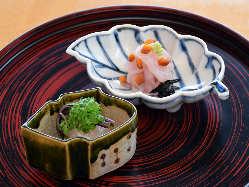 季節ごとの美しさや風情を、お料理で表現。