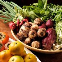 南伊勢の鮮魚、桑名はまぐり、さらには地元契約農家の野菜も豊富