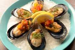 新鮮な魚貝・肉・ジビエまで多彩な料理が味わえる!