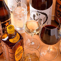 焼肉宴会にピッタリな、生ビールや日本酒・焼酎の種類も豊富です