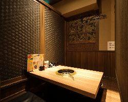 くつろぎの和空間が心地よい店内。毎日24時迄営業しています!