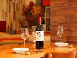 ドリンクもワインを中心に色々!お料理との相性も抜群です!
