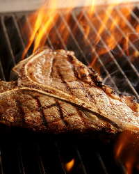 オーダーメイドのオーブンで豪快に焼き上げる絶品グリル料理