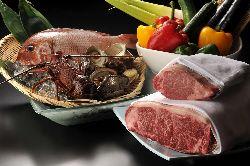 新鮮な旬の素材を生かした料理をお楽しみください。