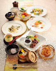 ご慶事からご法要まで、各種ご宴会プランが充実。