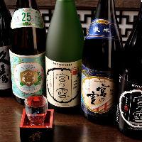 創業170年の宮崎本店からは至福の日本酒&焼酎をご用意