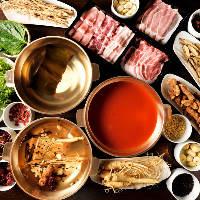 和風or薬膳or韓鍋の3種から選べる当店の名物しゃぶしゃぶをぜひ