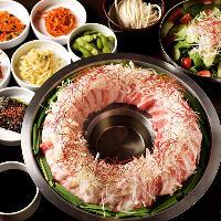 鹿児島の郷土料理・肉炊き鍋をTEJI SARANG風にアレンジした逸品