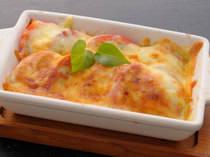 目にも楽しいトマトとチーズのコラボレーション♪