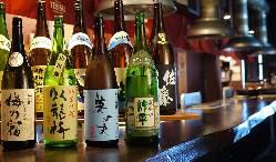 料理に合う日本酒、焼酎も多数取り揃えております♪