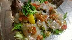 鮮魚から作られるフレンチベースの一品!