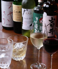 国産のワインも豊富にご用意♪