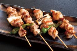 『遠州美味鶏』を使用! こだわりのある焼き鳥をご提供!