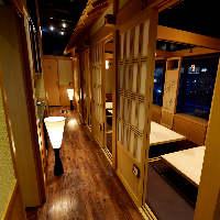 清水駅徒歩30秒!完全個室完備&全席掘りごたつの和空間が自慢♪