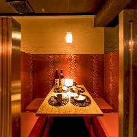 こだわりが光る人気のデザイン個室は女子会、接待に最適!