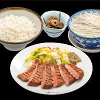 仙台名物 『牛たん定食』