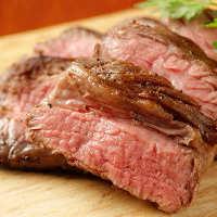 アンガス牛ステーキ★柔らかい肉質とジューシーさが特徴!