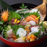 【市場仕入れの鮮魚】 常に新鮮な味をお届けしております