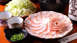 「あぐー豚のしゃぶしゃぶ」ご宴会コースは3,480円~