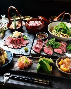 完全個室 くずし肉割烹 座頭牛 zato-ushi 錦本店