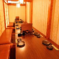 豪華な完全個室♪大人数様の貸切宴会や団体様の飲み会に最適♪