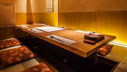 ◆┤個室貸切├◆ 清潔感あふれる洗練された和空間で貸切宴会