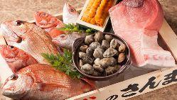 ◆┤海の幸├◆ 市場から毎朝目利きして仕入れる鮮度抜群の味
