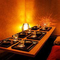 落ち着いた空間で宴会・飲み会・接待などご利用ください。
