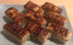 穴子の押し寿司は手土産に人気