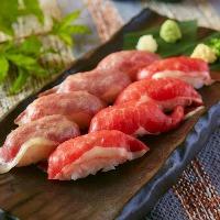 日〜木限定!肉寿司食べ放題!地域最安値の1480円!!