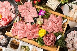 ◆おすすめのコース料理は『黒家極上炭火焼コース』