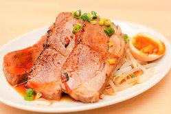 おつまみ煮豚 リニューアルしたおつまみ煮豚です